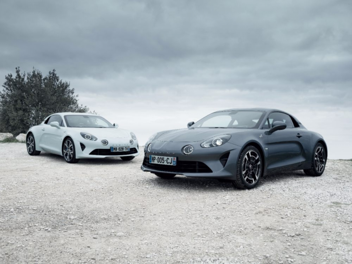 Alpine A110 Pure und Legende